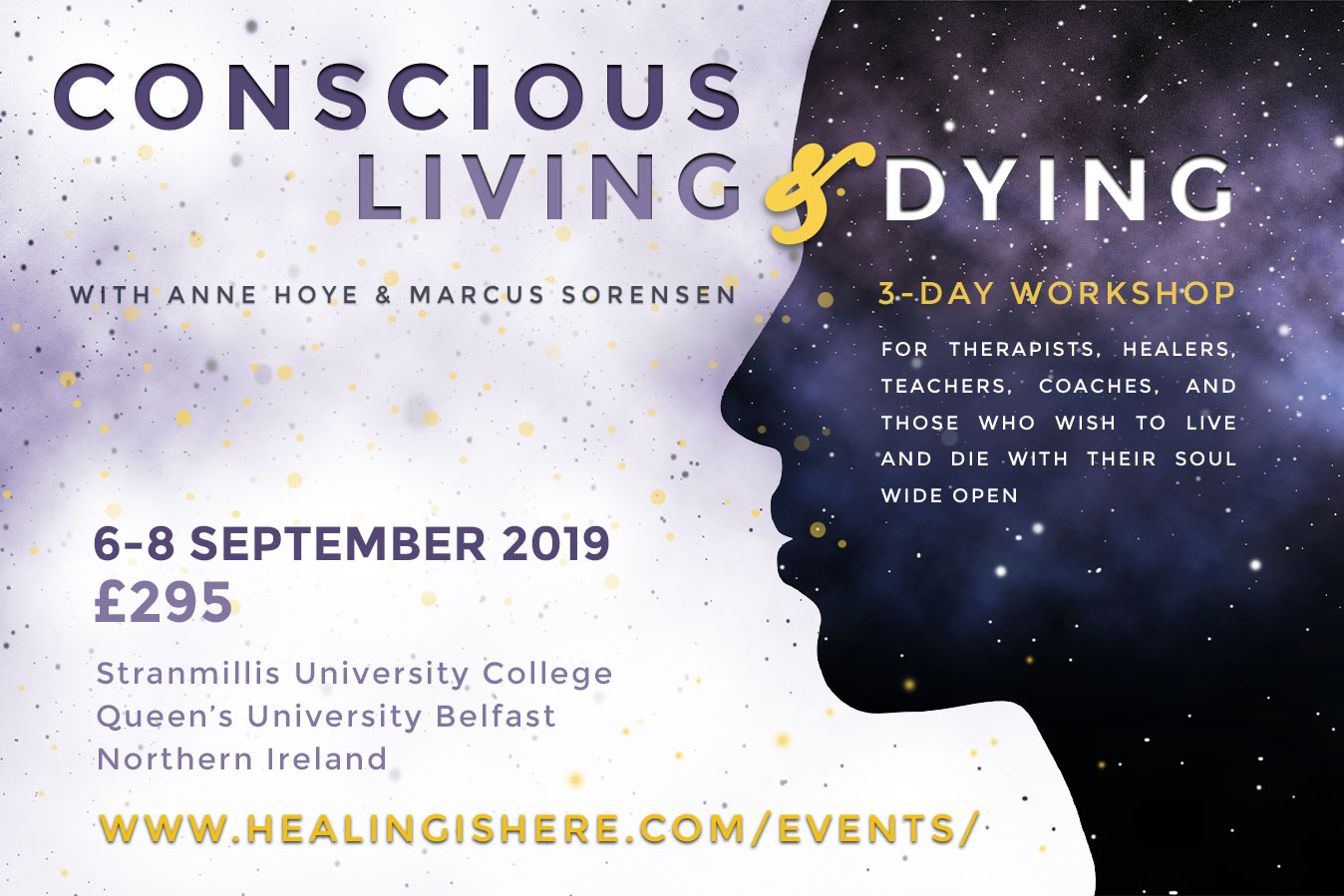 Conscious Living & Dying Workshop Flyer