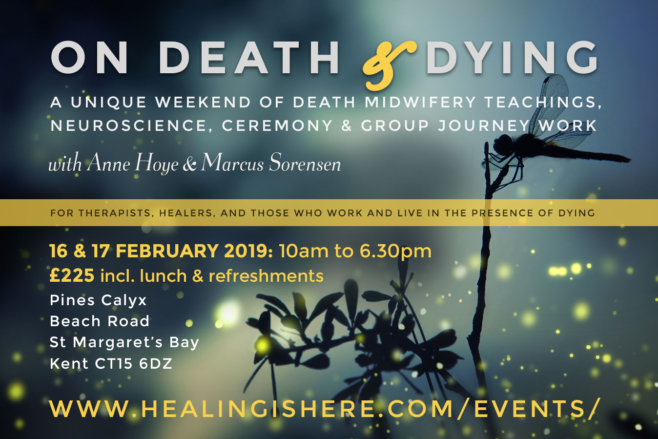 Death & Dying Workshop Flyer